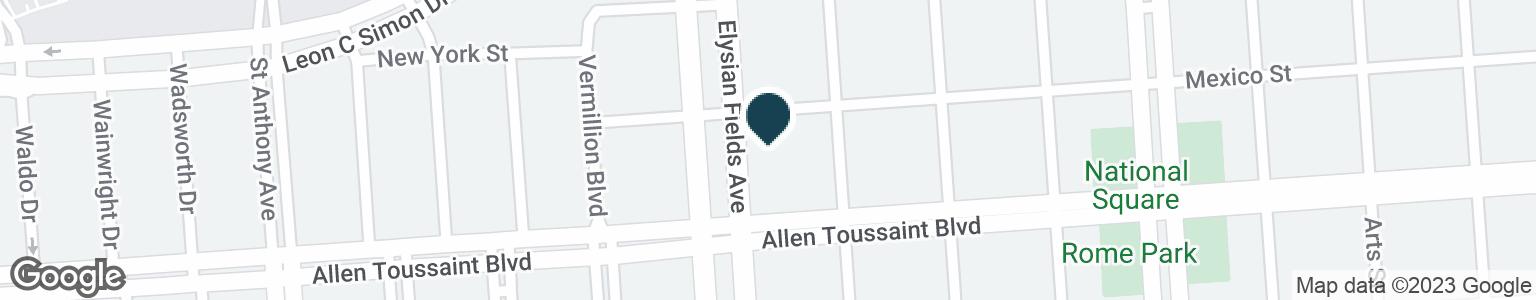 Google Map of6201 ELYSIAN FIELDS AVE