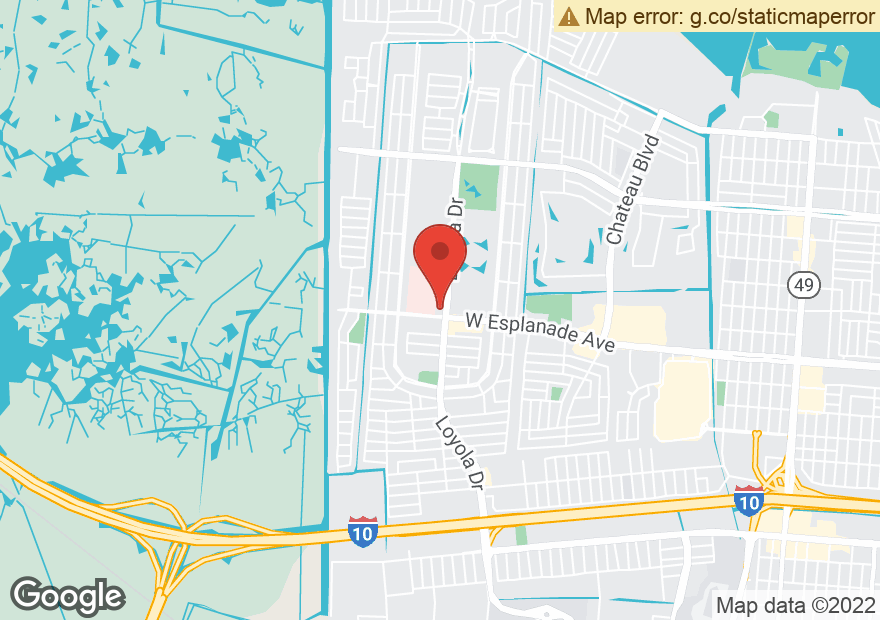 Google Map of 220 W ESPLANADE AVE