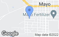 Map of Mayo, FL