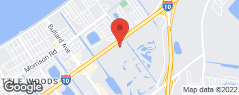 Map of 13040 I 10 Service Rd in New Orleans