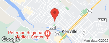 Map of 141 W Water St in Kerrville