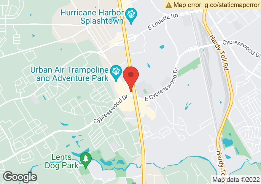Google Map of 19710 HOLZWARTH RD