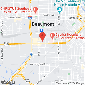 Map of Muhammad Aziz, MD at 3570 College, Beaumont, TX 77701