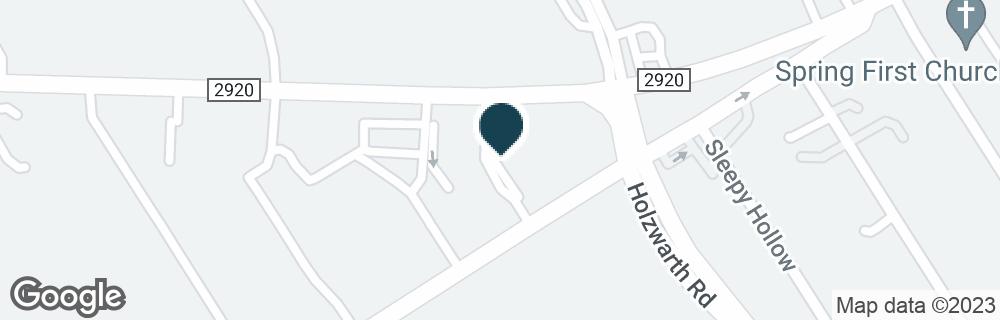 Google Map of2103 FM 2920 RD