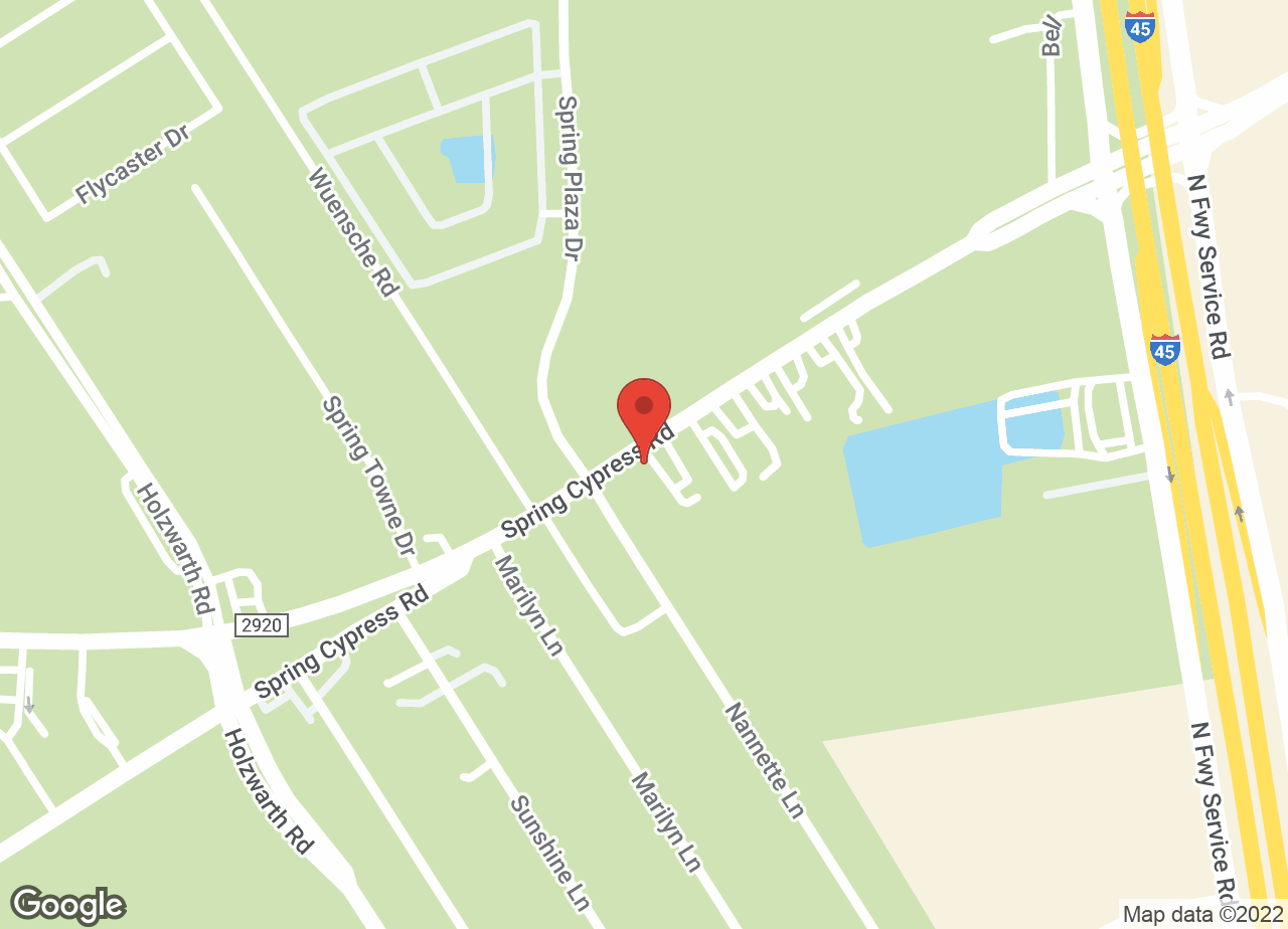 Google Map of VCA Spring Animal Hospital
