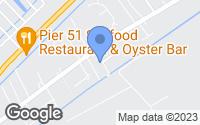 Map of LaPlace, LA