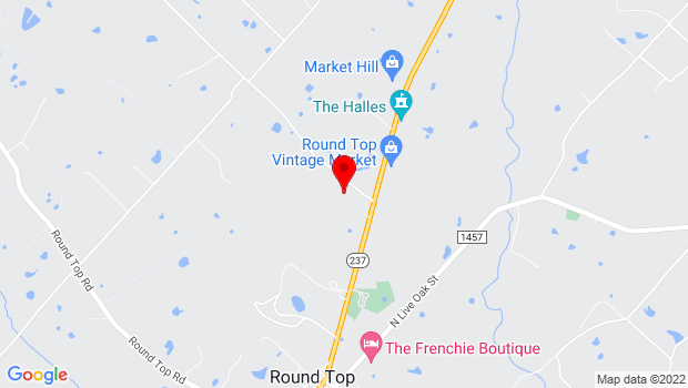 Google Map of 248 Jaster Road, Round Top, TX 78954