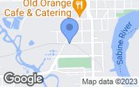 Map of Orange, TX
