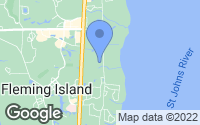 Map of Fleming Island, FL