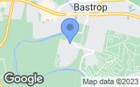 Map of Bastrop, TX