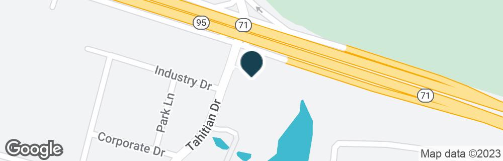 Google Map of4201 HIGHWAY 71 E