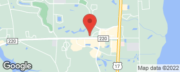 Map of 1560 Business Center Dr in Fleming Island
