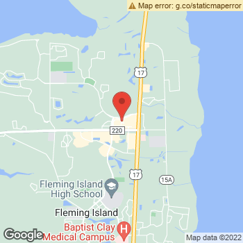 Map of Ted Brink & Associates, Inc. Fleming Island at 1524-5 County Road, Fleming Island, FL 32003