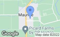 Map of Maurice, LA