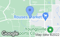 Map of Youngsville, LA