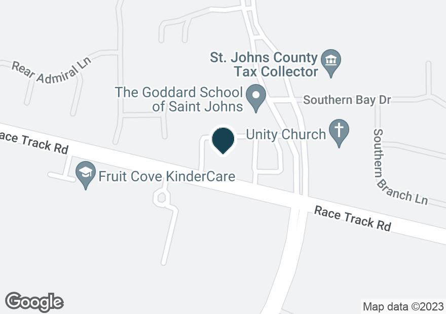 Google Map of105 JULINGTON PLAZA DR