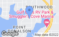 Map of Panama City, FL