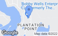 Map of Panama City, FL