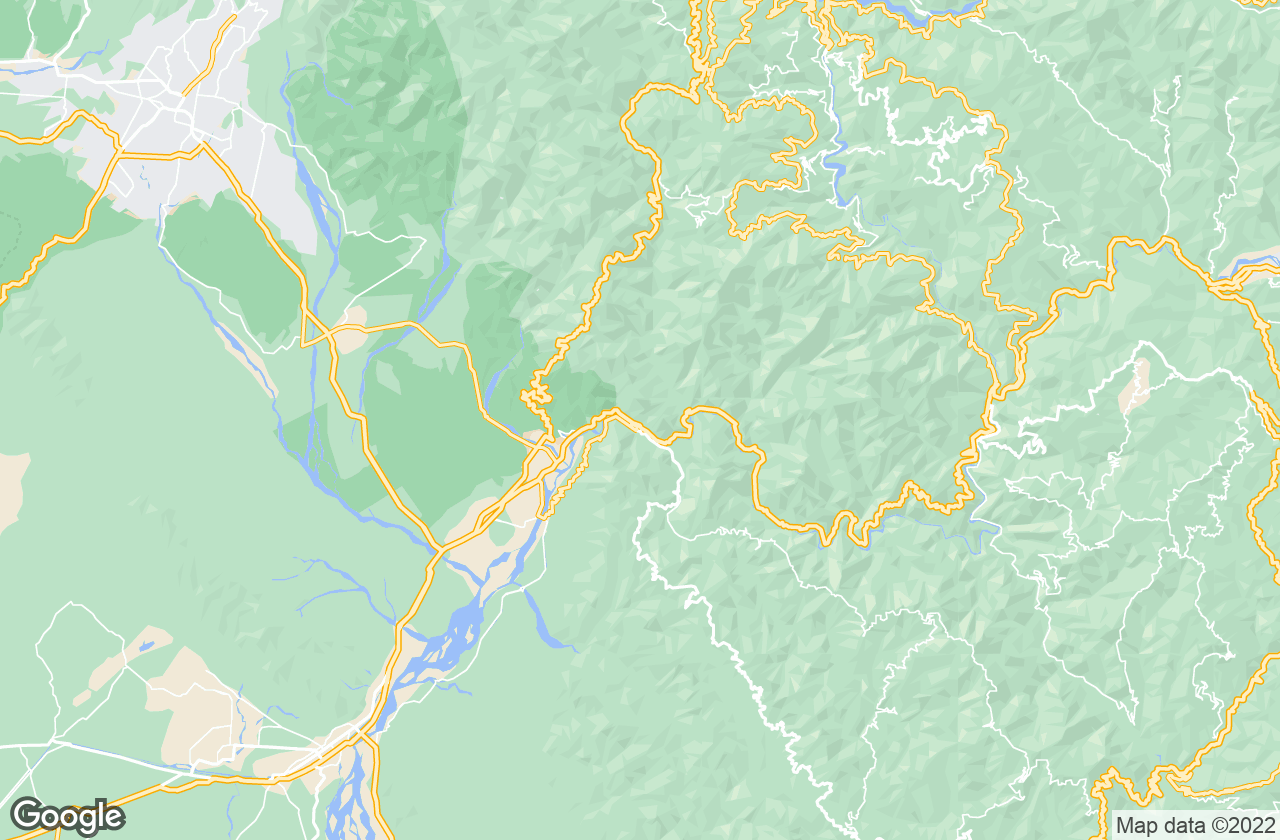 Google Map of Rishikesh