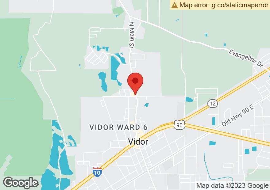 Google Map of 1305 N MAIN ST