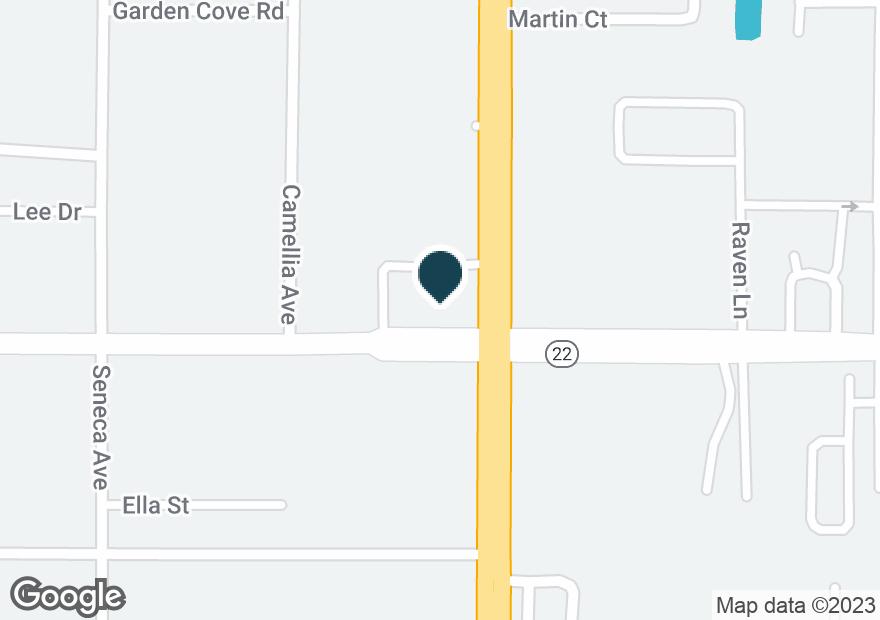 Google Map of301 N TYNDALL PKWY