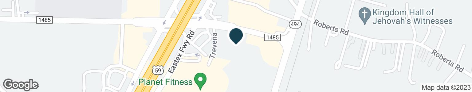 Google Map of20824 FM 1485 RD
