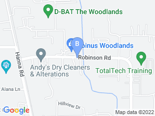 Map of Pet Spa Suites Dog Boarding options in Conroe | Boarding