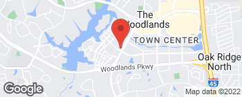 Map of 10077 Grogans Mill Rd in The Woodlands