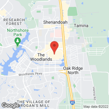 Map of Michael Kors at 1201 Lake Woodlands Dr, The Woodlands, TX 77380