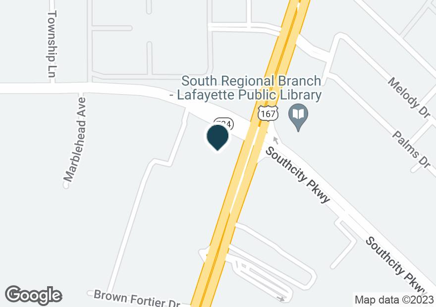 Google Map of6130 JOHNSTON ST
