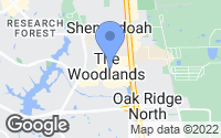 Map of The Woodlands, TX