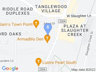 Map of Howl N Woof Dog Day Care and Training Dog Boarding options in Austin | Boarding