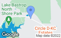 Map of Bastrop, TX