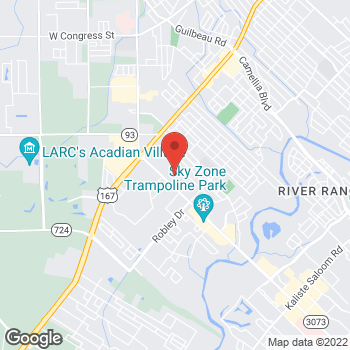 Map of buybuy BABY at 3617 Ambassador Caffrey Parkway, Lafayette, LA 70503
