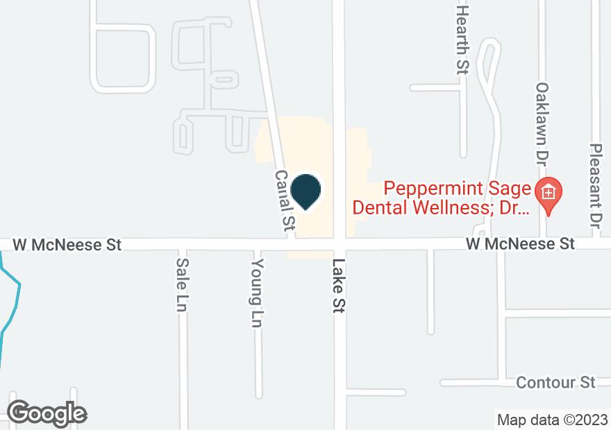 Google Map of4460 LAKE ST