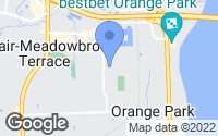 Map of Orange Park, FL