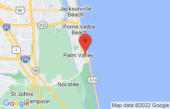 Map of South Ponte Vedra Beach