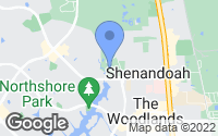 Map of Shenandoah, TX
