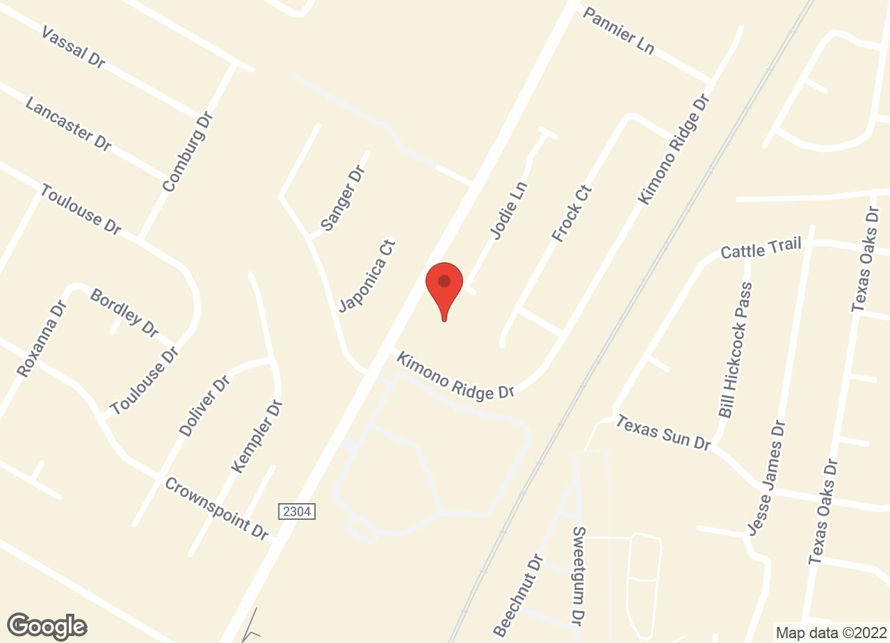 Google Map of VCA Tanglewood Animal Hospital