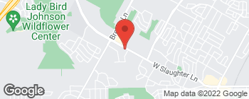 Map of 3305 W Slaughter Ln in Austin