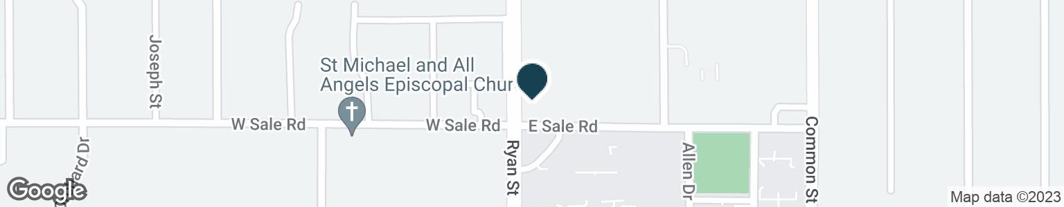 Google Map of4097 RYAN ST