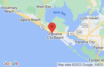 Map of Panama City Beach