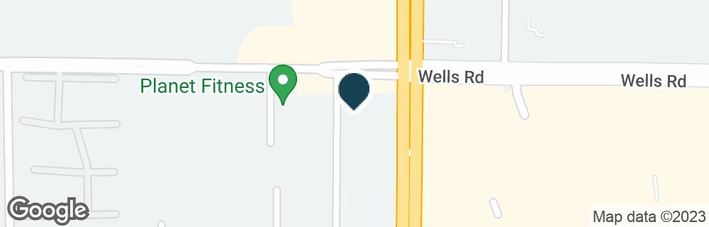 Google Map of42 BLANDING BLVD
