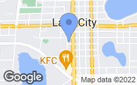 Map of Lake City, FL