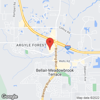 Map of Hair Cuttery - Closed at 6001 Argyle Forest Drive Suite 20, Jacksonville, FL 32244
