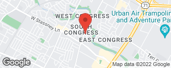 Map of 5307 S Congress Ave in Austin
