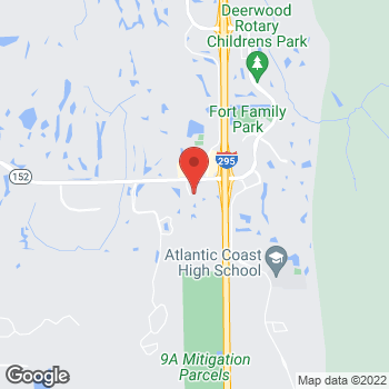 Map of Hair Cuttery at 10920 Baymeadows Rd, Jacksonville, FL 32256