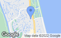Map of Ponte Vedra Beach, FL