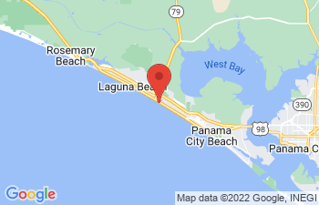 Map of Panama City Beach