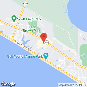 Map of Panera Bread at 101 Bluefish Dr, Panama City Beach, Florida 32413